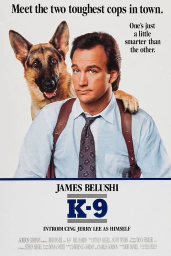 Official movie poster for K-9 (1989)