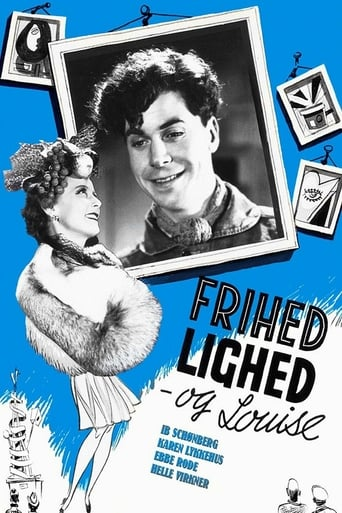 Poster of Frihed, lighed og Louise