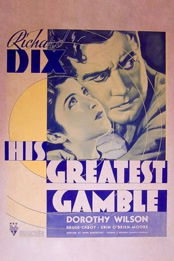 Poster of His Greatest Gamble