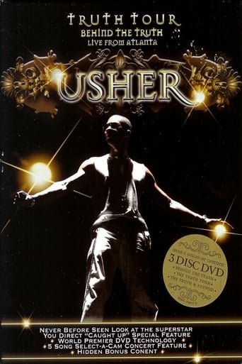 Usher - The Truth Tour poster