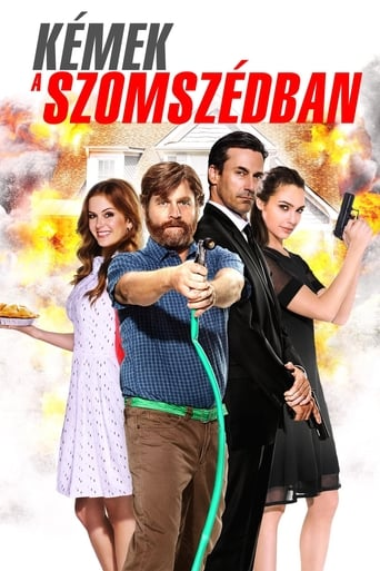 Poster of Kémek a szomszédban