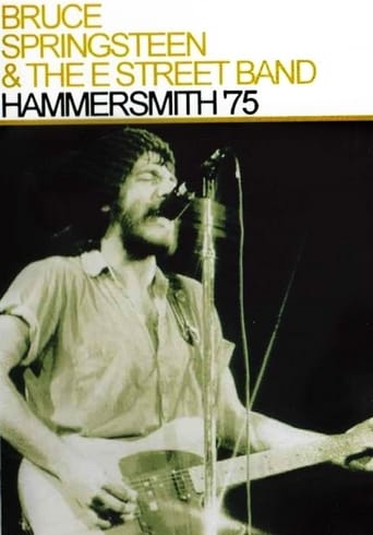 Poster of Bruce Springsteen & The E Street Band - Hammersmith 75
