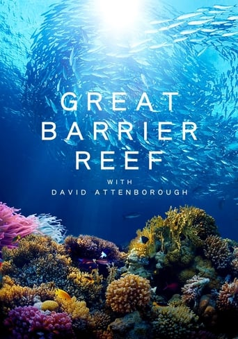 Poster of Great Barrier Reef with David Attenborough