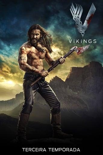 Vikings 3ª Temporada - Poster