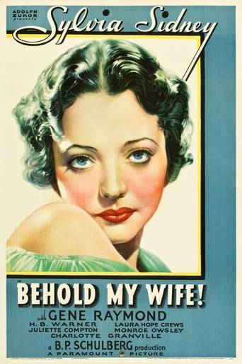Poster of Behold My Wife!