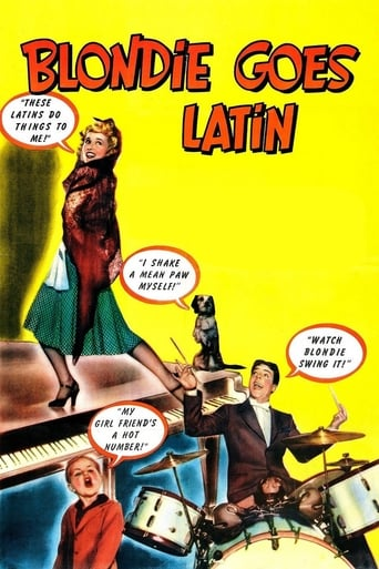 Poster of Blondie Goes Latin