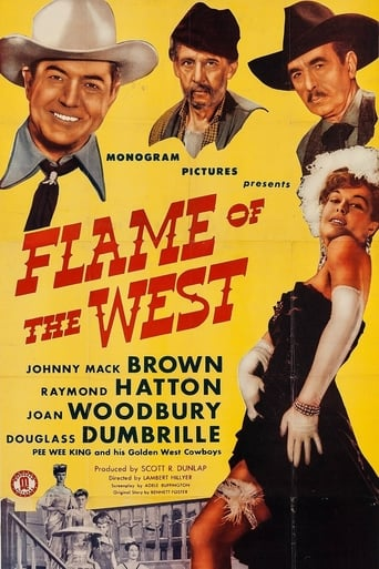 Poster of Flame of the West
