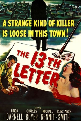Poster of The 13th Letter