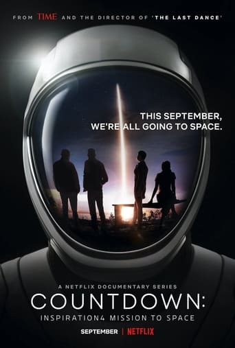 Poster Countdown: Inspiration4 Mission to Space