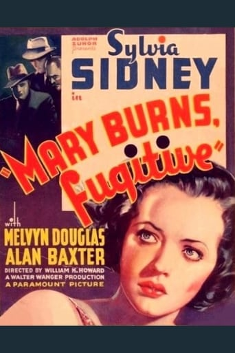 Poster of Mary Burns, Fugitive