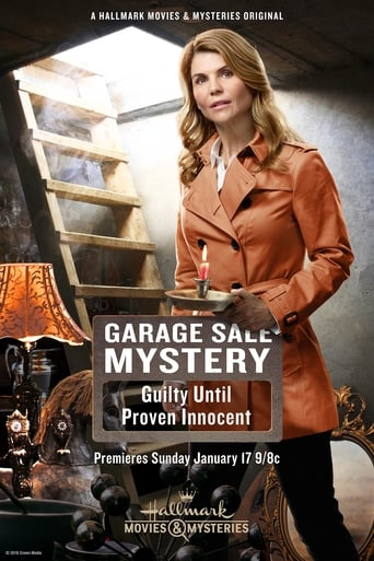 Poster of Garage Sale Mystery: Guilty Until Proven Innocent