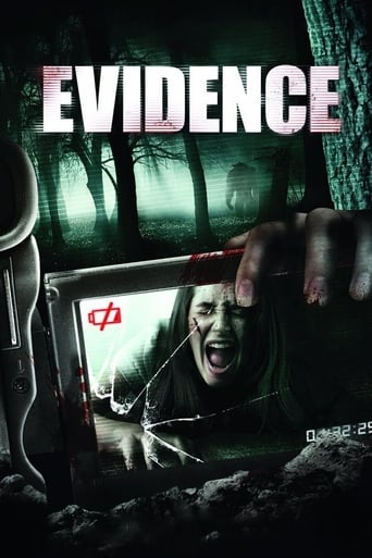 Evidence (2012) - poster