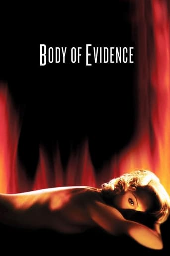 Body of Evidence (1992) - poster