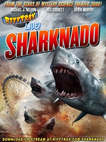 Poster of RiffTrax Live: Sharknado