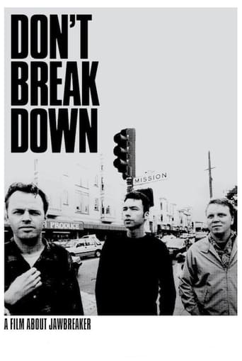 Poster of Don't Break Down: A Film About Jawbreaker