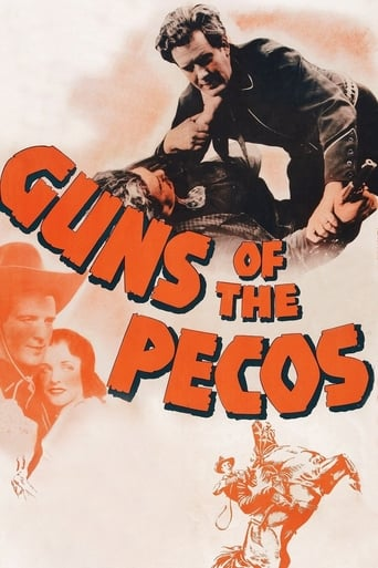 poster of Guns of the Pecos
