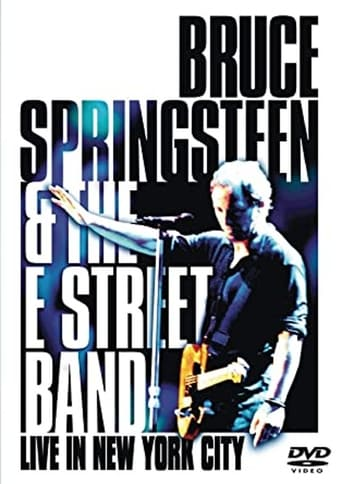 Poster of Bruce Springsteen and the E Street Band: Live in New York City