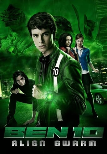 Poster of Ben 10 Alien Swarm