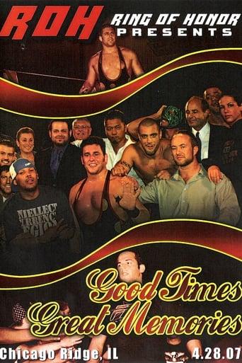 Watch ROH Good Times, Great Memories Online Free Putlocker