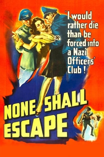 Poster of None Shall Escape