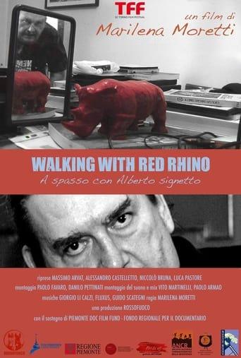 Walking with red rhino - A spasso con Alberto Signetto
