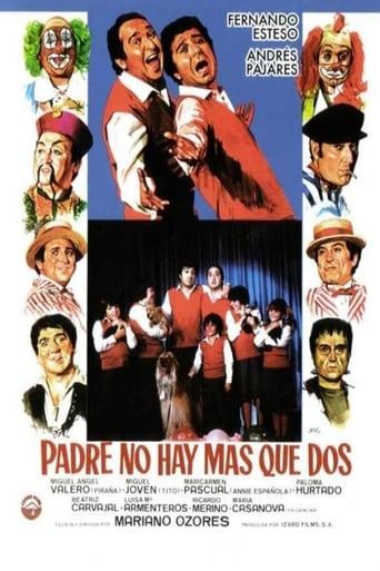 Poster of Padre no hay más que dos