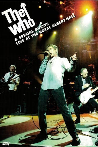 Poster of The Who & Special Guests Live at the Royal Albert Hall