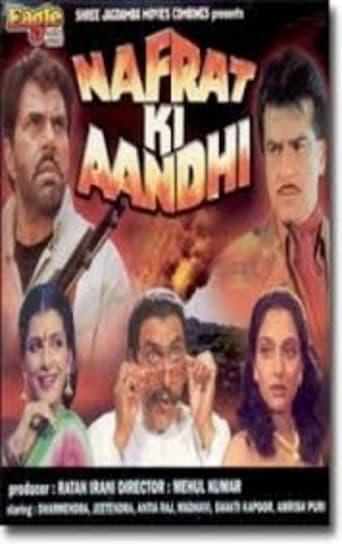 Poster of Nafrat Ki Aandhi