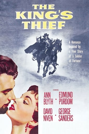 Poster of The King's Thief