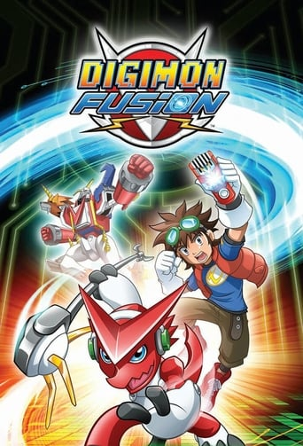 Poster of Digimon Fusion