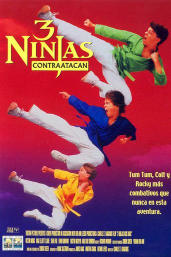 Poster of 3 Ninjas Contraatacan