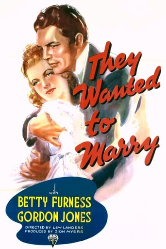 Poster of They Wanted to Marry