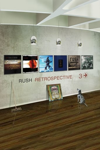 Poster of Rush: Retrospective 3 Video Collection