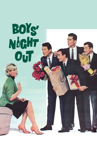Poster of Boys' Night Out