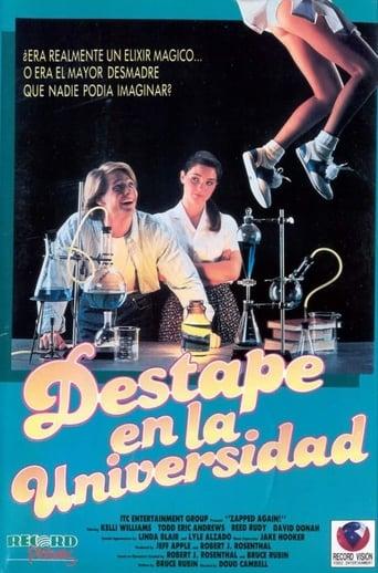 Poster of Destape en la universidad