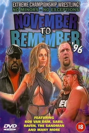 Poster of ECW November to Remember 1996
