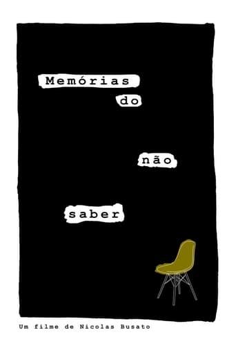 Memórias do não saber