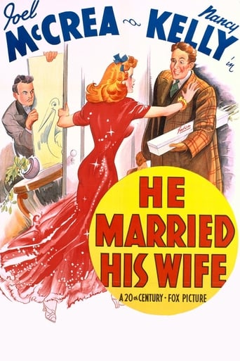 Poster of He Married His Wife
