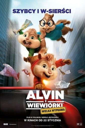 Alvin i wiewiórki: Wielka wyprawa
