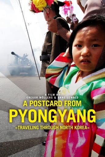 Poster A Postcard from Pyongyang - Traveling through Northkorea