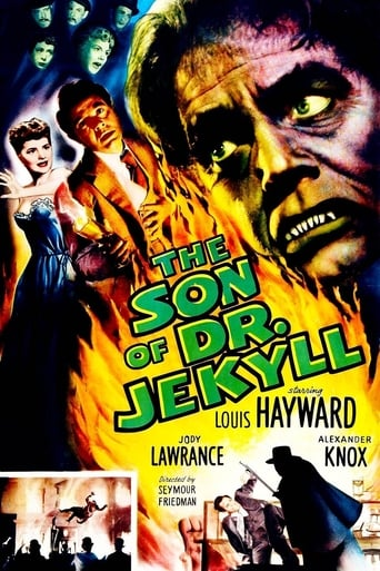 Poster of The Son of Dr. Jekyll