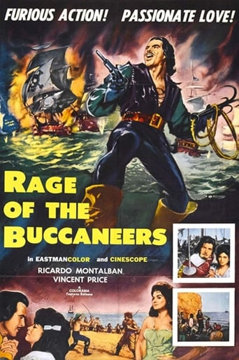 Poster of Rage of the Buccaneers