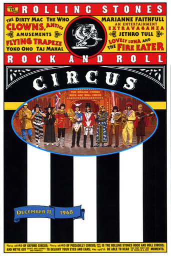 Poster of The Rolling Stones Rock and Roll Circus