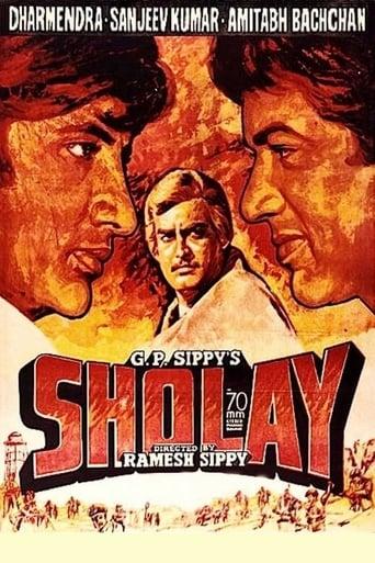 Sholay poster