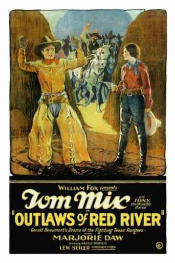 Poster of Outlaws of Red River