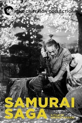 Poster of Samurai Saga