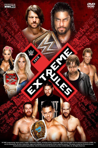 Poster of WWE Extreme Rules 2016
