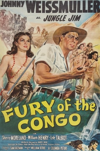 Poster of Fury of the Congo