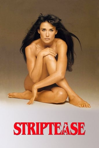 Striptease Movie Poster