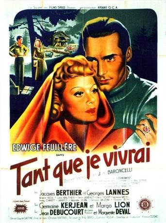 Poster of Tant que je vivrai
